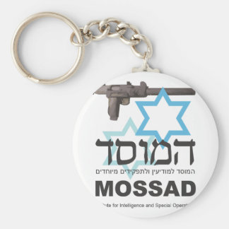 The Mossad Basic Round Button Key Ring