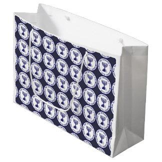 The Mossad Emblem Large Gift Bag