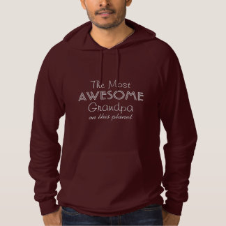 The Most Awesome (custom text) clothing Hoodie
