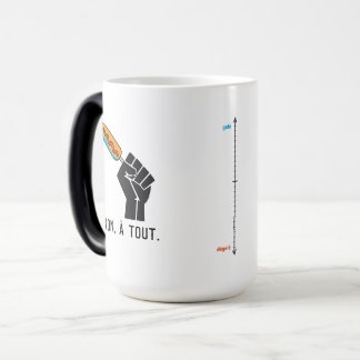 The most not thawed out limps Quebec humour Magic Mug