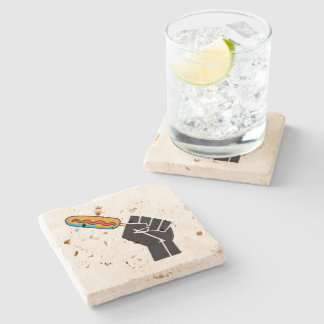 The most not thawed out limps Quebec humour Stone Coaster