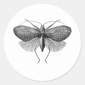 The Moth Man Prophesy Round Sticker