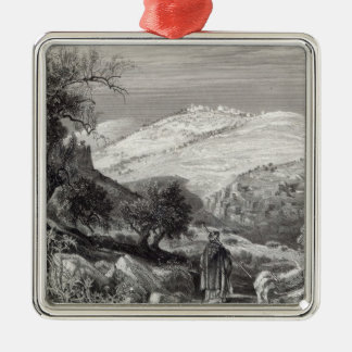 The Mount of Olives, from Mount Zion Christmas Ornament
