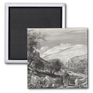 The Mount of Olives, from Mount Zion Magnets