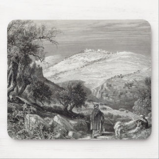 The Mount of Olives, from Mount Zion Mouse Mat
