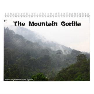 The Mountain Gorilla Calendar