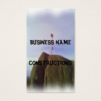 The mountain top business card