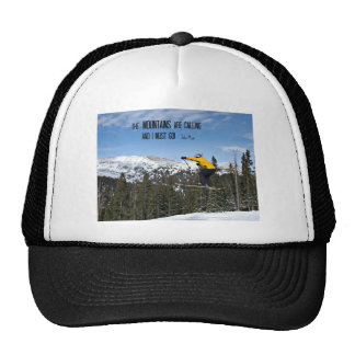 The Mountains are calling... Hats
