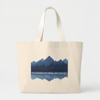 The Mountains are Calling... Shopping Tote Bag