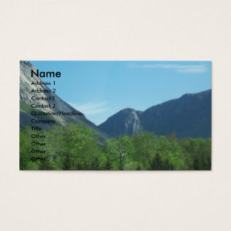 The Mountains Photo Business Cards