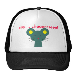 The mouse in the hat
