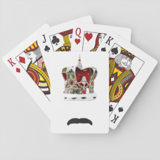 The Moustache Queen Playing Cards