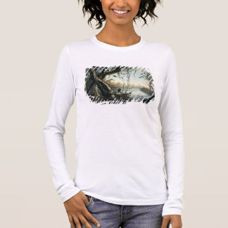 The Mouth of the Fox River, Indiana, plate 5 from Long Sleeve T-Shirt
