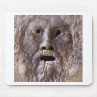 The Mouth of Truth - Rome, Italy Mouse Mat
