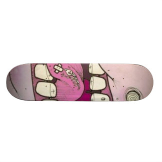 the mouth skateboard
