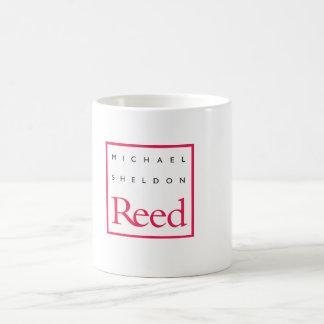 The Mug: Michael Sheldon Reed Design Basic White Mug