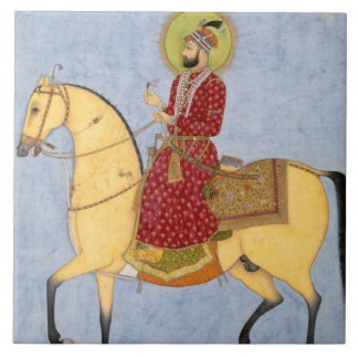 The Mughal Emperor Farrukhsiyar(1683-1719) (r.1713 Large Square Tile