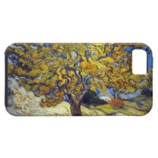 The Mulberry Tree. Vincent Van Gogh. iPhone 5/5S Covers