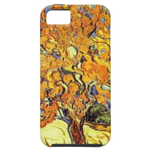 The Mulberry Tree, Vincent van Gogh. Vintage art Cover For iPhone 5/5S