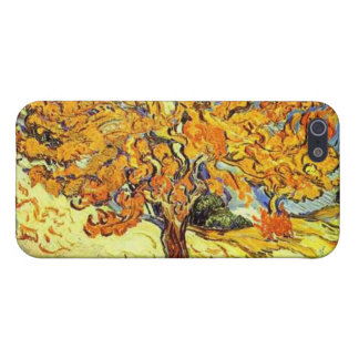 The Mulberry Tree, Vincent van Gogh. Vintage art iPhone 5 Cover