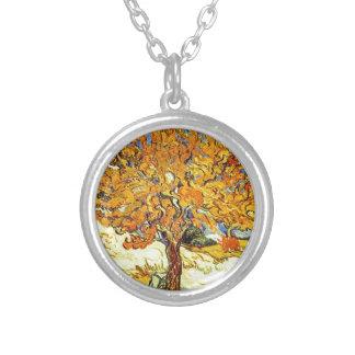 The Mulberry Tree Vincent van Gogh Vintage art Pendants