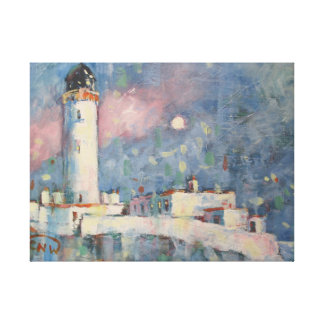 The Mull Lighthouse, Scotland. Canvas Print