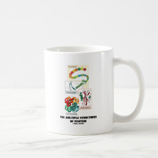 The Multiple Structures Of Protein Coffee Mugs