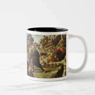 The Multiplication of the Loaves and Fishes Two-Tone Coffee Mug