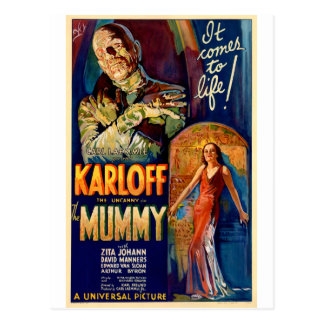 The Mummy 1932 Film Post Cards
