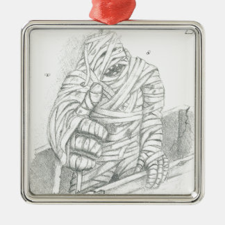 The Mummy Christmas Ornament
