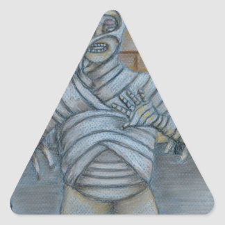 The mummy triangle stickers
