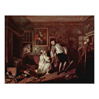The murder of the count by William Hogarth Print