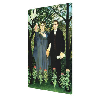 The Muse Inspiring the Poet, 1908-09 Gallery Wrap Canvas