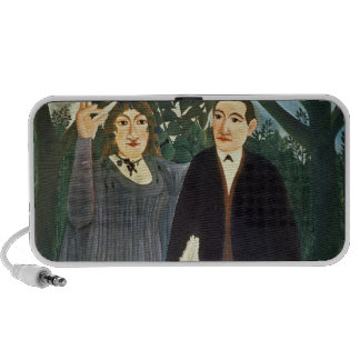 The Muse Inspiring the Poet 1909 iPhone Speaker