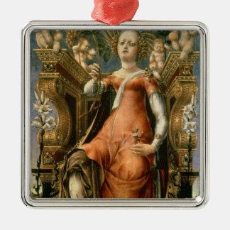 The Muse Thalia Christmas Ornament