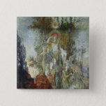 The Muses 15 Cm Square Badge