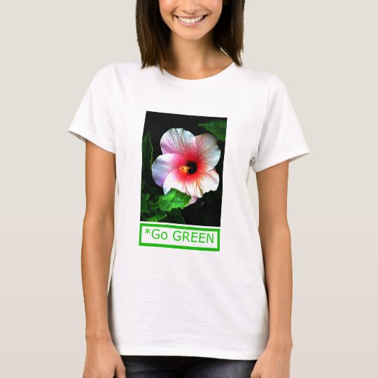 The MUSEUM Artist Series by jGibney  Go Green Hib T-Shirt
