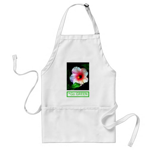 The MUSEUM Artist Series by jGibney  Hibiscus Go G Apron