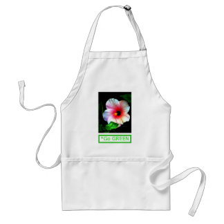 The MUSEUM Artist Series by jGibney  Hibiscus Go G Standard Apron