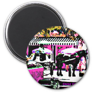 The MUSEUM Artist Series by jGibney  Together 6 Cm Round Magnet