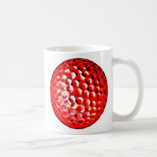 The MUSEUM Artist Series jGibney golf ball1 Basic White Mug