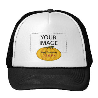 The MUSEUM Artist Series jGibney Happy Thanks 2009 Trucker Hat