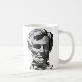 The MUSEUM Artist Series jGibney Lincoln 2002 B&W Basic White Mug