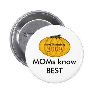 The MUSEUM Artist Series jGibney MOMS pumpkin7 6 Cm Round Badge