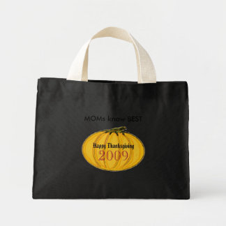 The MUSEUM Artist Series jGibney MOMS pumpkin7 Mini Tote Bag
