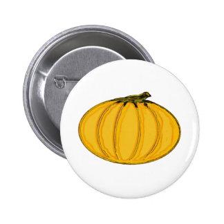 The MUSEUM Artist Series jGibney Pumpkin7tc100 Button