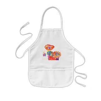 The MUSEUM Artist Series Kaitlyn s Sun and Flower1 Apron