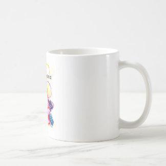 The MUSEUM Artist Series Kaitlyn's Caterpillar Basic White Mug