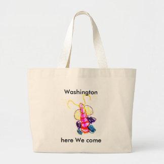 The MUSEUM Artist Series Kaitlyn's Caterpillar Jumbo Tote Bag