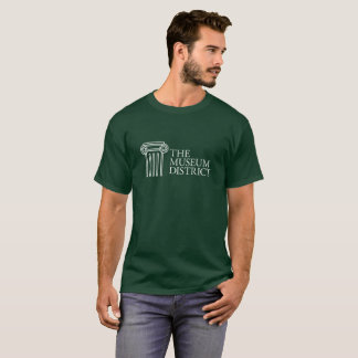 The Museum District logo shirt